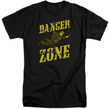 Archer- Flying In The Danger Zone (Big & Tall) T-Shirt
