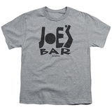 Youth: Battlestar Galactica- Joes Bar Logo T-shirts