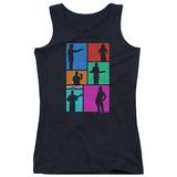 Juniors Tank Top: Archer- Silhouette Blocks T-shirts