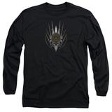 Long Sleeve: Battlestar Galactica- Tacticle Crest T-shirts