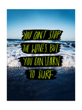 Learn to Surf Posters by Leah Flores