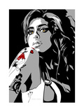 Amy Winehouse Arte por Emily Gray