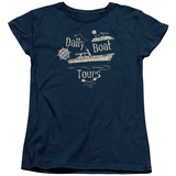 Womans: Gilligans Island- Ss Minnow Boat Tours T-Shirt