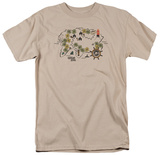 Gilligans Island- Walking Map Shirts