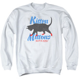 Crewneck Sweatshirt: Its Always Sunny In Philadelphia- Kitten Mittons T-shirts