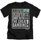 Juvenile: Sandlot- The Great Bambino Shirt