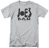Battlestar Galactica- Joes Bar Logo T-shirts