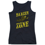 Juniors Tank Top: Archer- Flying In The Danger Zone T-Shirt