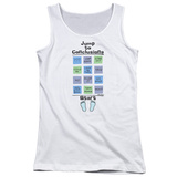 Juniors Tank Top: Office Space- Jump To Conclusions T-Shirt