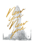 Gilded New York Posters by Moira Hershey