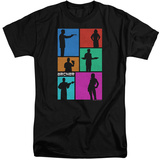 Archer- Silhouette Blocks (Big & Tall) T-Shirt