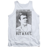 Tank Top: Gilligans Island- Professor Everything But A Raft Tank Top