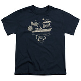 Youth: Gilligans Island- Ss Minnow Boat Tours T-shirts