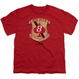 Youth: Battlestar Galactica- Red Aces Badge Shirts