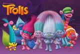 Trolls- Characters Reprodukcje