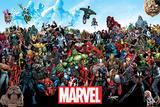 Marvel- Universe Plakater