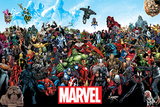 Marvel- Universe Poster