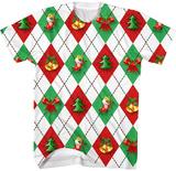 Christmas Plaid T-shirts