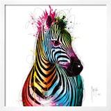 Zebra Pop Art by Patrice Murciano