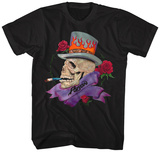 Poison- Skull Smokin Poison T-Shirt