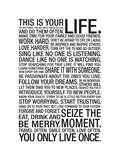 This Is Your Life Posters
