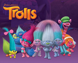 Trolls- Characters Plakaty