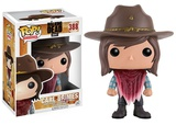The Walking Dead - Carl w/Bandana POP Figure Legetøj