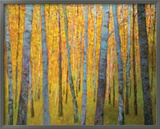 Forest Verticals Prints by Ken Elliott