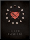 The Count of Monte Cristo Mounted Print by Christian Jackson