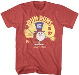 Dum Dums- Drum Man Ad T-shirts