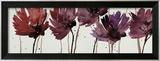 Blushing Blooms Framed Giclee Print by Natasha Barnes