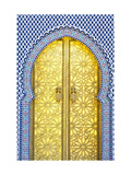 Royal Palace Door, Fes, Morocco Prints by Doug Pearson