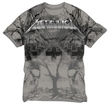 Metallica- Master Of Puppets All Over Print Shirts