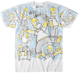 The Simpsons- Homer Time T-shirts