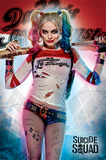 Suicide Squad- Daddy's Lil Monster Affiche