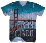 San Francisco Golden Gate Vista Shirt