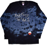 Long Sleeve: Pink Floyd- Brick In The Wall Bluser