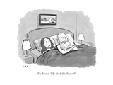 """I'm Monet. Who the hell is Manet?"" - New Yorker Cartoon Premium Giclee Print by Jason Adam Katzenstein"