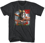 Quiet Riot- Condition Critical Red T-Shirt