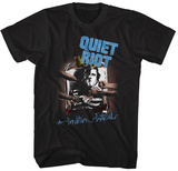 Quiet Riot- Condition Critical Blue T-shirts