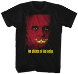 Silence Of The Lambs- Poster T-shirts