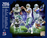 Dallas Cowboys 2016 Team Composite (with Prescott) Photo