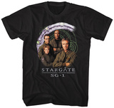 Stargate- Cast And Gate T-Shirt