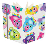 Vintage Bear Notebook by Lisa Frank