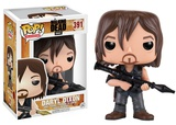 The Walking Dead - Daryl w/Rocket Launcher POP Figure Brinquedo