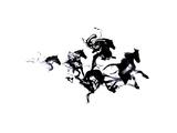 Black Horses Prints by Robert Farkas