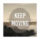 Foggy Mountain Motivation II Print by  Studio W