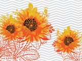 Sunflower Sunday Prints by Bee Sturgis