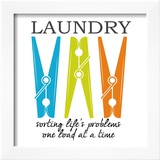Laundry Sorting Posters by Taylor Greene