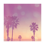 Palm Trees in California Prints by Myan Soffia